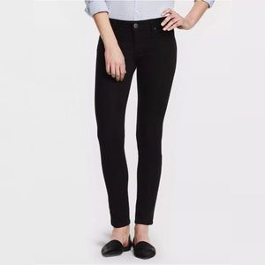 DL1961 EMMA Riker Power Legging Jeans  Black